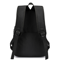 男士背包大容量电脑旅行包双肩包中学生初中学生书包时尚潮流