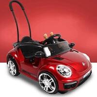 婴儿童电动车小汽车四轮可坐人充电遥控摇摆玩具车宝宝男孩1-3岁