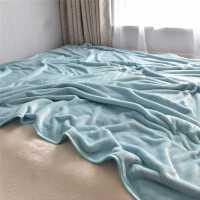 珊瑚绒毛毯被子加厚单人双人纯色小毛毯床单空调毯午睡毯法兰绒毯