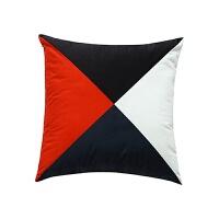 北欧现代几何简约沙发靠垫绒面抱枕套含芯抱枕创意靠枕办公室腰枕