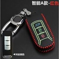 广汽传祺gs4钥匙包真皮gs5智能ga6遥控 ga3s钥匙扣壳保护套女 汽车用品