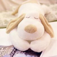 趴趴狗睡觉抱枕长条枕可爱床上毛绒玩具狗公仔布娃娃女孩生日礼物 1.1米
