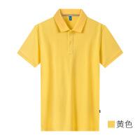 polo衫定制t恤印logo刺绣纯棉文化广告工装定做印制短袖工作衣服