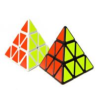 圣手比赛异形魔方 金字塔 弹簧可调 三角形魔方 送教程