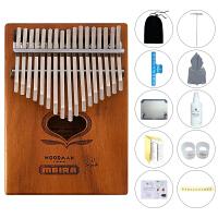 爱德琳卡林巴17音拇指钢琴便携式乐器手指琴简单易学乐器KALIMBA