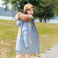 2018新款儿童羽绒服女童中长款童装加厚外套女大童女孩韩版洋气潮