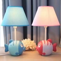 亲亲鱼台灯儿童卡通床头卧室台灯可调光温馨可爱时尚创意装饰礼物