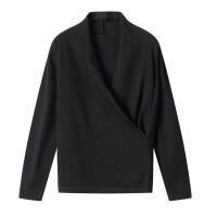 v领针织衫打底衫女秋冬季2018新款韩版修身毛衣心机上衣