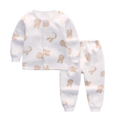 新生儿加绒加厚保暖内衣套装男童女童宝宝婴幼儿秋冬装1岁3 发货周期:一般在付款后2-90天左右发货,具体发货时间请以与客服协商的时间为准