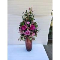 盆栽仿真花套装装饰花卉盆景工艺摆件婚庆摄道具套装花