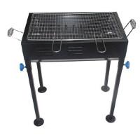 中号烧烤炉户外便携烧烤架 家用木炭 烤肉串炉子 带烤盘