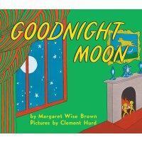Goodnight Moon 英文原版 经典绘本 晚安,月亮 柔软触摸封面纸板书 睡前图画书 4次凯迪克奖得主Marg