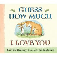 【预订】Guess How Much I Love You 9780763642648