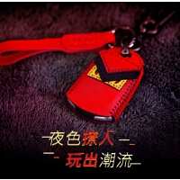 凯迪拉克钥匙套ATSL钥匙包真皮XT5改装CT6 XTS汽车钥匙壳