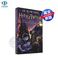英文原版小说 哈利波特与魔法石 Harry Potter and the philosopher's Stone 1 第