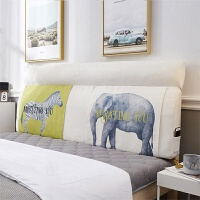 北欧无床头卧室靠垫床上靠枕榻榻米软包贴墙自红ins风大靠背欧式沙发靠枕枕头被子二合一抱枕特大号沙发
