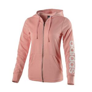 Adidas阿迪达斯 女装  运动休闲连帽夹克外套 BR2577 现