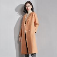 梵希蔓新款毛呢子外套2017秋冬装韩版中长款修身呢大衣