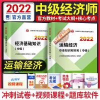 备考2021 中级经济师2020运输经济 中级经济师经济基础知识 运输经济专业知识与实务 教材2本套经济师中级2020运