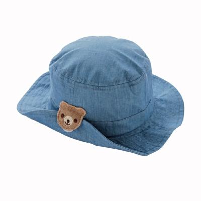 婴儿棉布帽子春夏秋男女宝宝渔夫帽小童遮太阳帽可折叠凉帽6-月7765 蓝色 牛仔纯色 M 帽围50┆约头围47~49┆18~30个月 发货周期:一般在付款后2-90天左右发货,具体发货时间请以与客服协商的时间为准