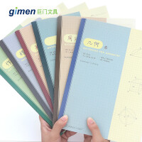16K学科笔记作本文几何英文错题本练习周记学生课堂笔记本子