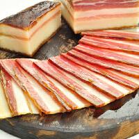 【湖北特产馆】土家腊肉400g 柴火烟熏土猪肉咸肉年货特产烟熏腊五花