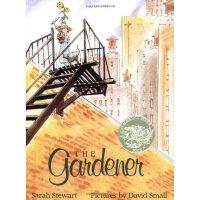 【现货】英文原版 The Gardener 小恩的秘密花园 凯迪克奖 平装全彩绘本 4-7岁适读