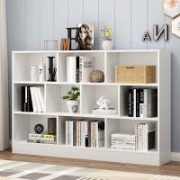 简易书架书柜落地置物架多功能客厅简约收纳小柜子学生家用储物柜