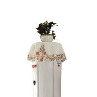 布艺盖布圆空调罩立式机柜机套防尘圆柱圆形格力美的简约现代