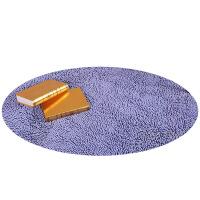 可爱圆形雪尼尔婚庆吊篮椅垫门垫卫浴室卧室地垫防滑吸水地毯垫垫