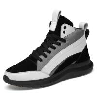 增高鞋男8cm秋季百搭运动休闲鞋隐形内增高男鞋6cm厚底潮鞋小码37