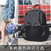 双肩包女2018新款潮流韩版时尚百搭个性小背包尼龙布书包女士包包