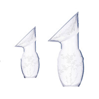 W 手动吸奶器手动母乳收集器溢奶漏奶接奶器硅胶集乳器产妇接奶神器B31