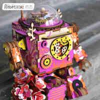 若态音乐盒八音盒旋转木马木质diy天空之城儿童女生生日礼物女孩走心的礼物情人节