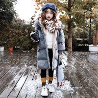 女童棉衣冬装2018新款洋气外套儿童女孩棉袄宝宝加绒加厚童装