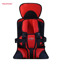 儿童安全座椅便携式车载坐垫婴儿汽车宝宝安全带手工缝制