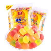 雅客糖果V9夹心果汁软糖508g*2包结婚庆喜糖儿童QQ糖