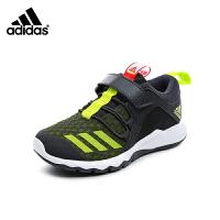 阿迪达斯adidas童鞋18新款儿童运动鞋中大童跑步鞋男童休闲鞋透气网面防滑运动鞋 (5-15岁可选)  BB7780