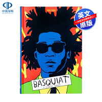 英文原版 Basquiat A Graphic Novel 巴斯奎特传记漫画小说 精装 名人传记 事迹漫画小说书籍