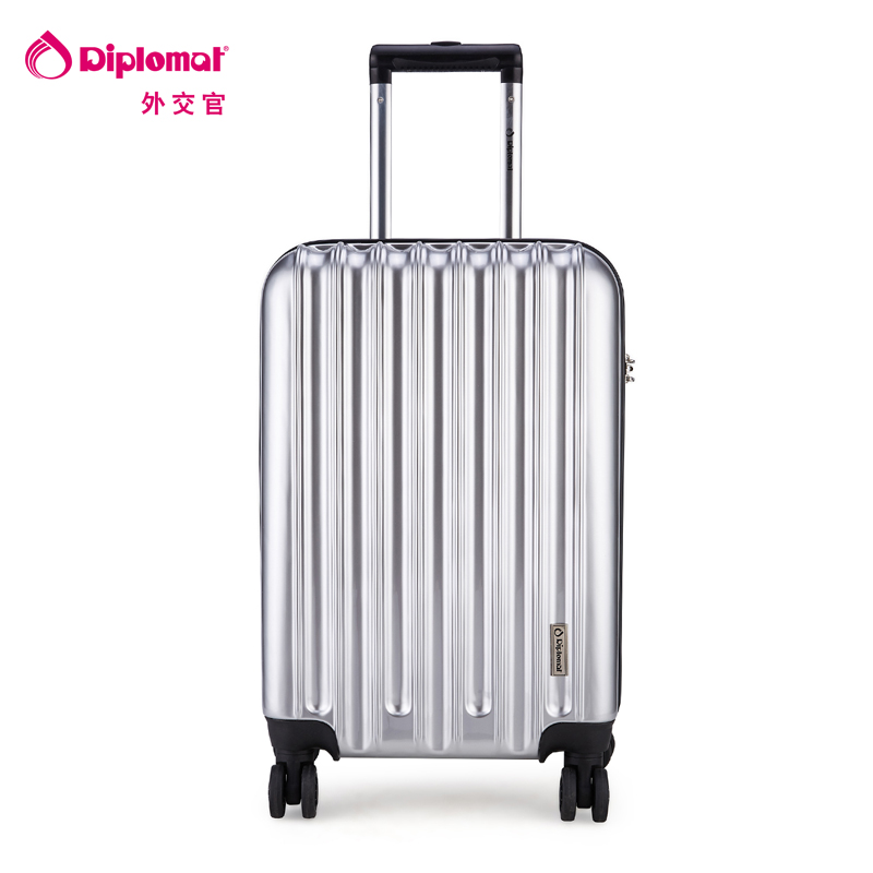 diplomat外交官 TC-618系列 20/24寸 拉杆箱 旅行箱 行李箱 登机箱时尚镜面,万向轮,TSA海关密码锁 三年质保