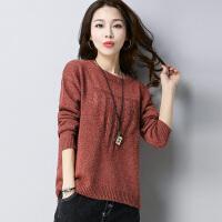 低领毛衣加厚女冬短款宽松大码针织打底衫线衣韩版时尚羊绒衫