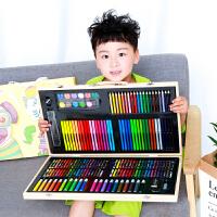 儿童幼儿园画画笔美术小学生蜡笔可水洗48色绘画工具宝宝可水洗初学者涂鸦生日礼品新年水彩笔套装彩色笔
