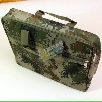迷彩元素 露营野战包 手提牛津布袋 防水拉链袋 资料袋 公文事务包