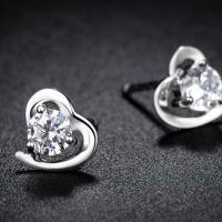 银耳钉女款耳环耳饰品送女友老婆浪漫表白生日礼物