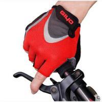 健身手套短指手套山地自行车半指骑行手套动感单车减震户外运动装备