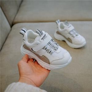 春秋新款童鞋儿童时尚老爹运动鞋男童女童跑步休闲鞋网红鞋