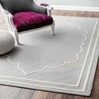 北欧风格客厅地毯茶几毯卧室床边垫简欧现代办公宿舍阳台小可机洗