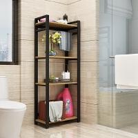 家居生活用品卫生间置物架落地厕所浴室收纳架多层洗手间脸盆架转角架储物架