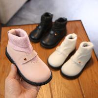 2018儿童春秋女靴秋季新款女童鞋低筒公主靴中大童女短靴韩版靴子