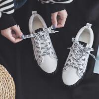 二棉鞋女韩版ulzzang学生加绒帆布鞋复古街拍板鞋防滑保暖棉鞋冬